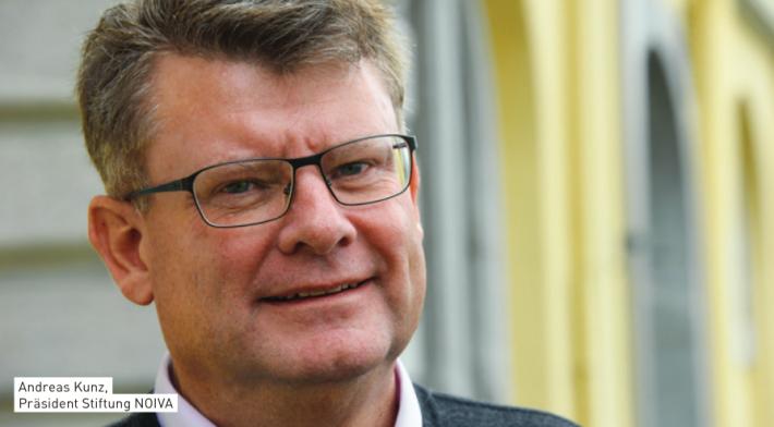 Andi Kunz, Präsident Stiftung NOIVA