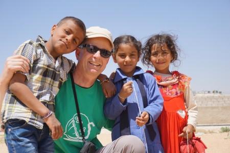 Adrian und 3 Kids