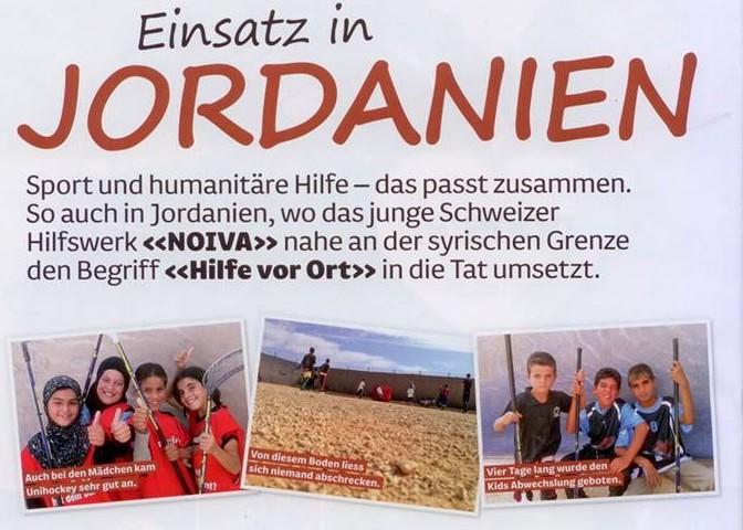 Artikel in unihockey.ch