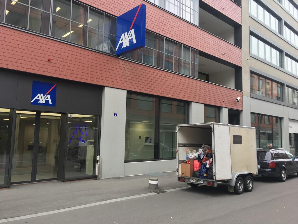 AXA Winterthur initiiert grosse Sammelaktion