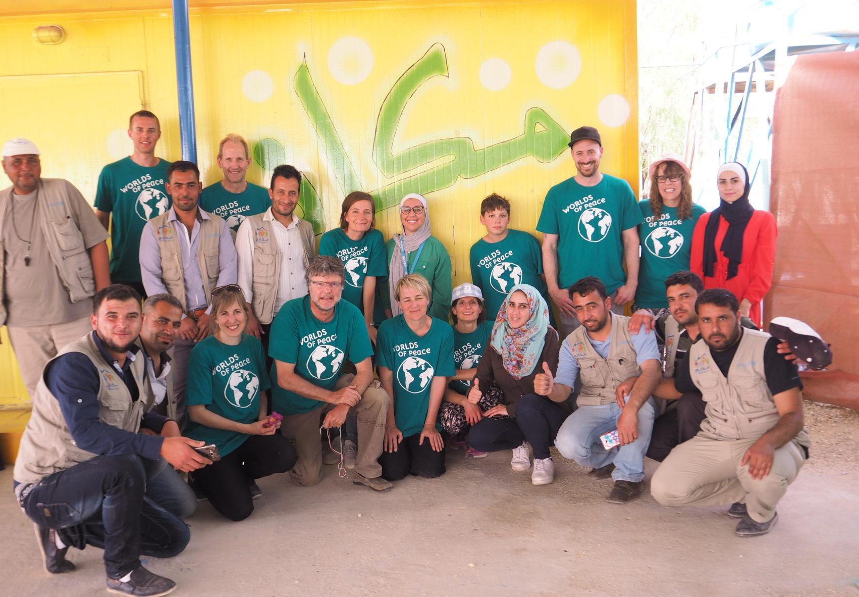 Bewährte schweizerisch-jordanisch-syrische Zusammenarbeit